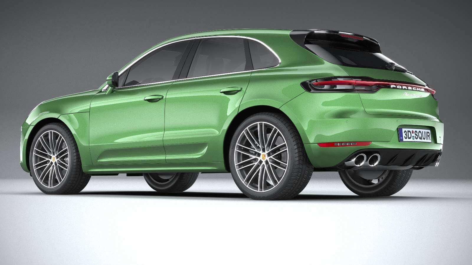 Design-3D-TPE-Gummifumatten fr Porsche Macan Turbo Performance ...