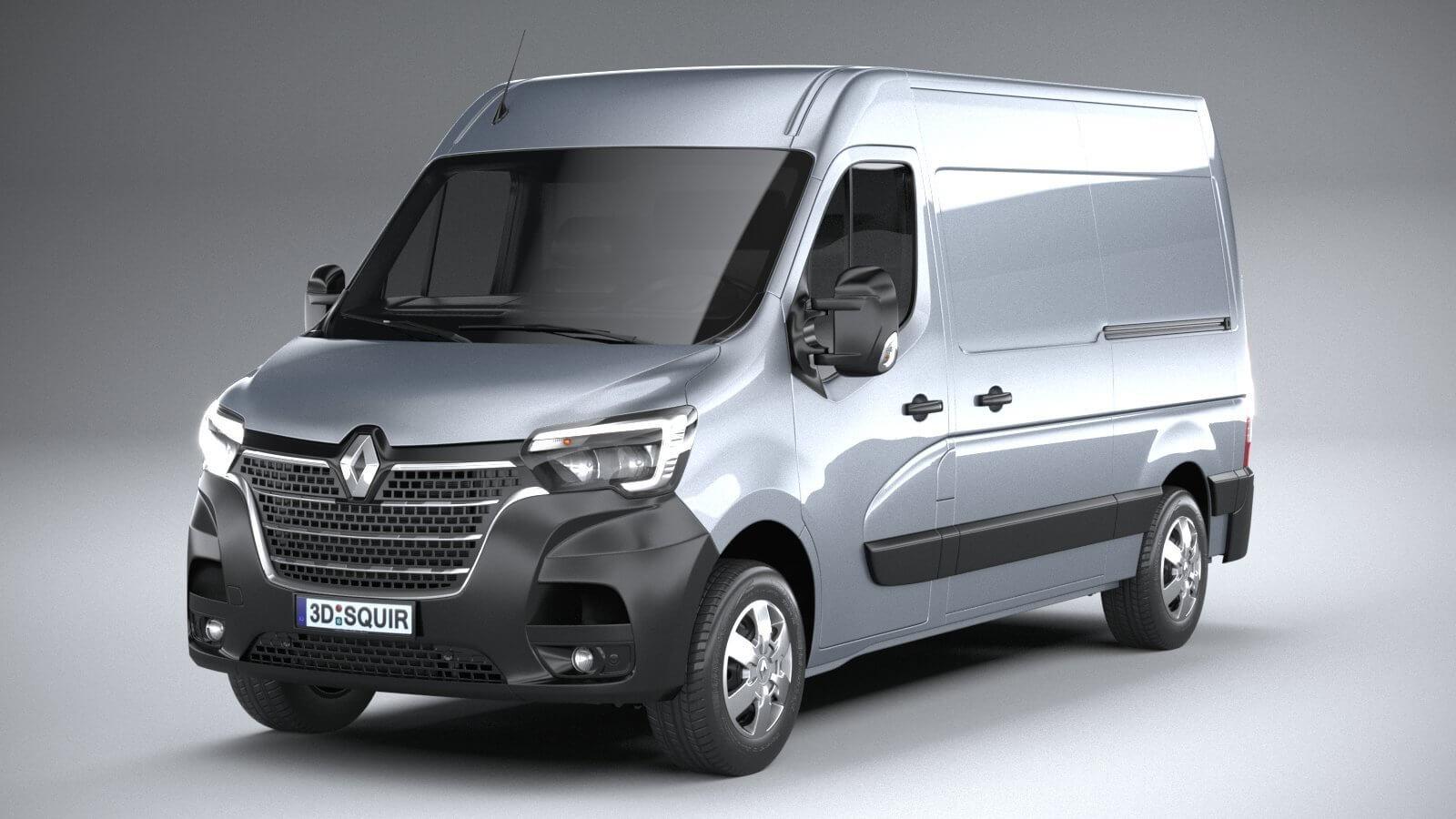 Renault Master L2h2 2020 3d Model