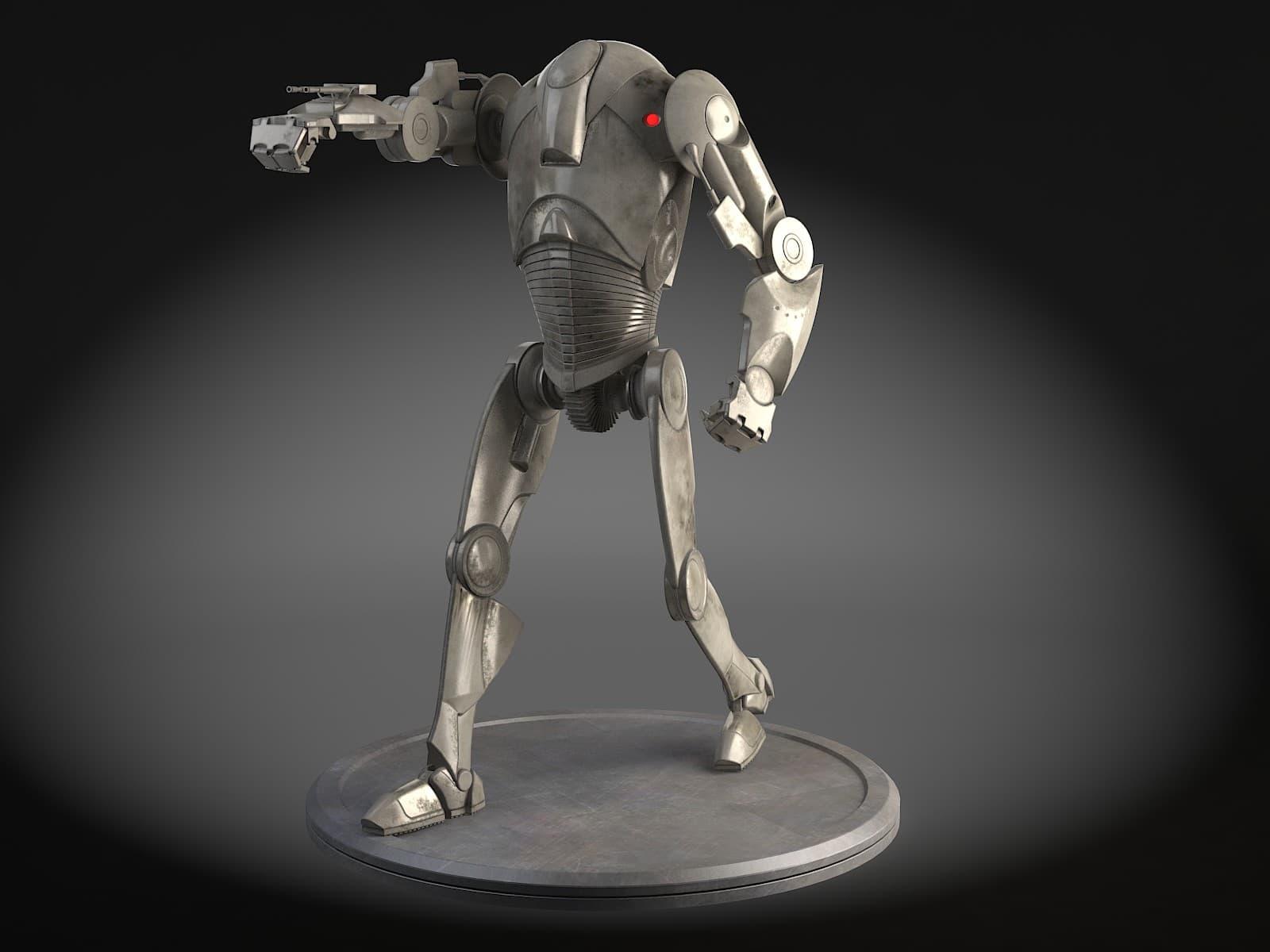 Star Wars B2 Battle Droid 3D Model