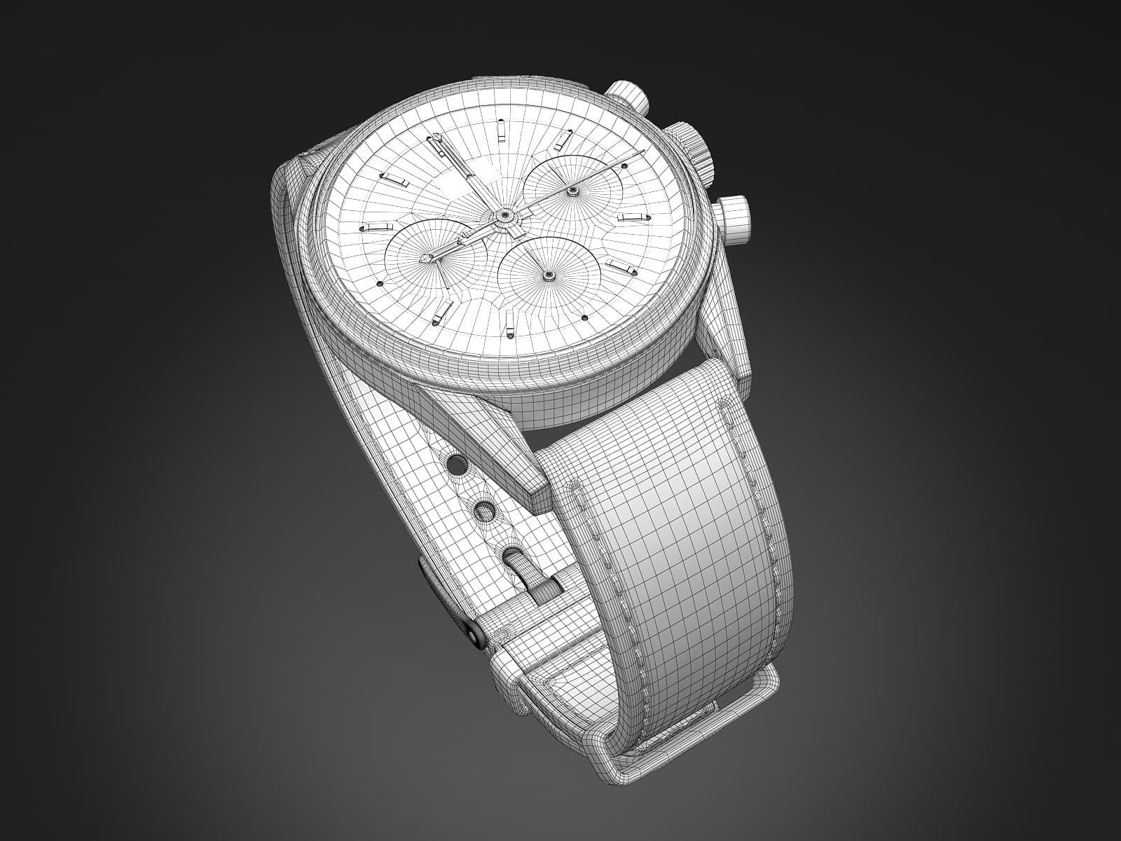 Tag Heuer CS3110 Watch 3D Model
