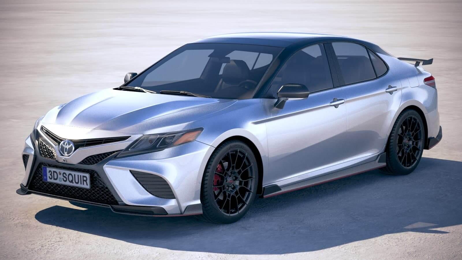 Toyota Camry Trd 2020 3d Model