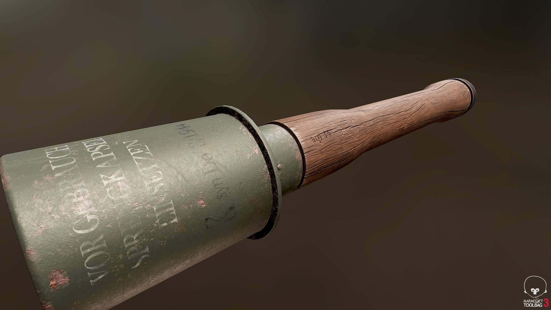Modern Stick Grenade