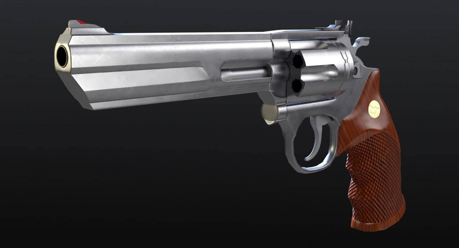 Colt Python Magnum 3D Model