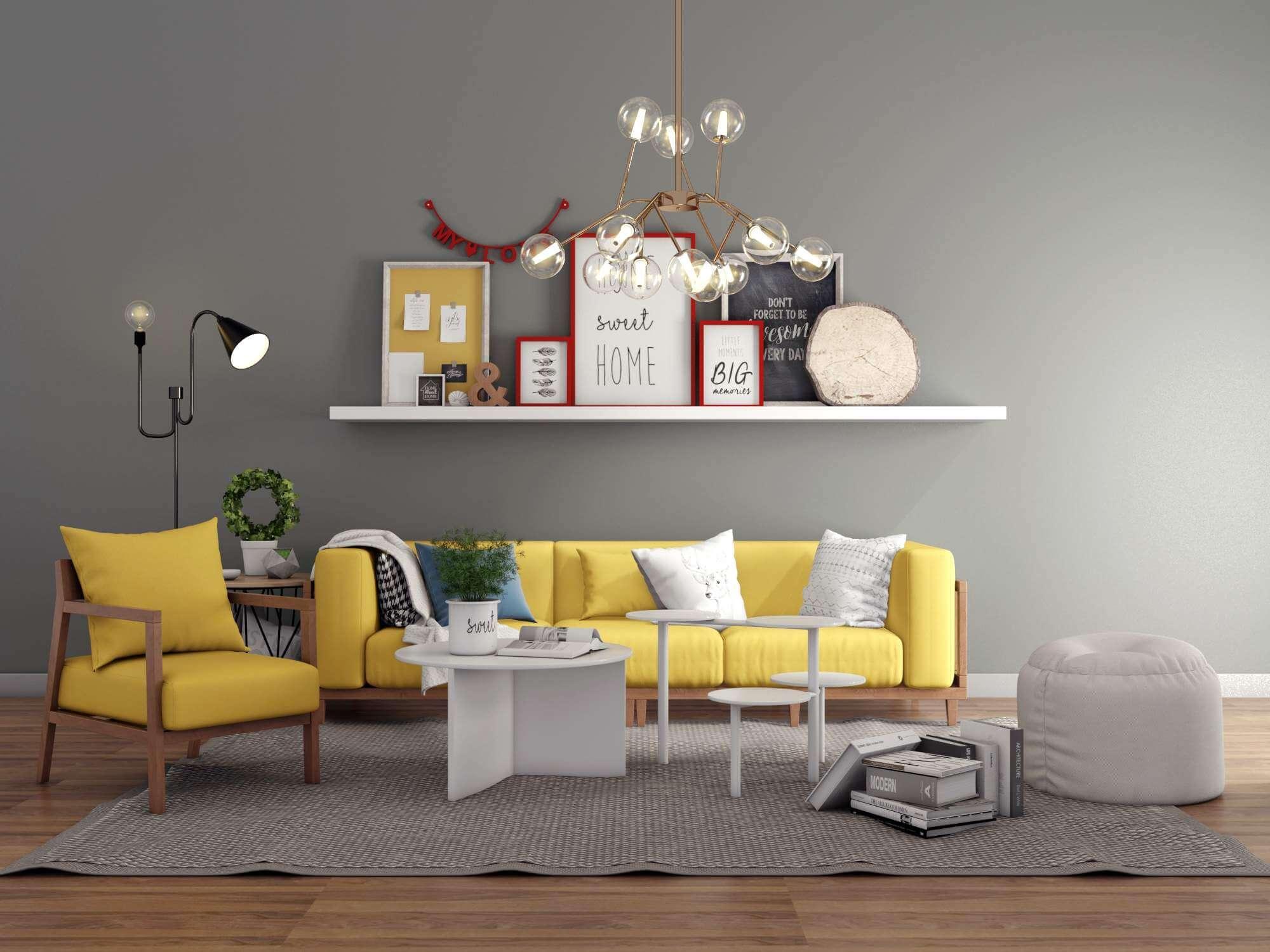 Outstanding Modern Livingroom Sofa Set 2 3D Model Alphanode Cool Chair Designs And Ideas Alphanodeonline