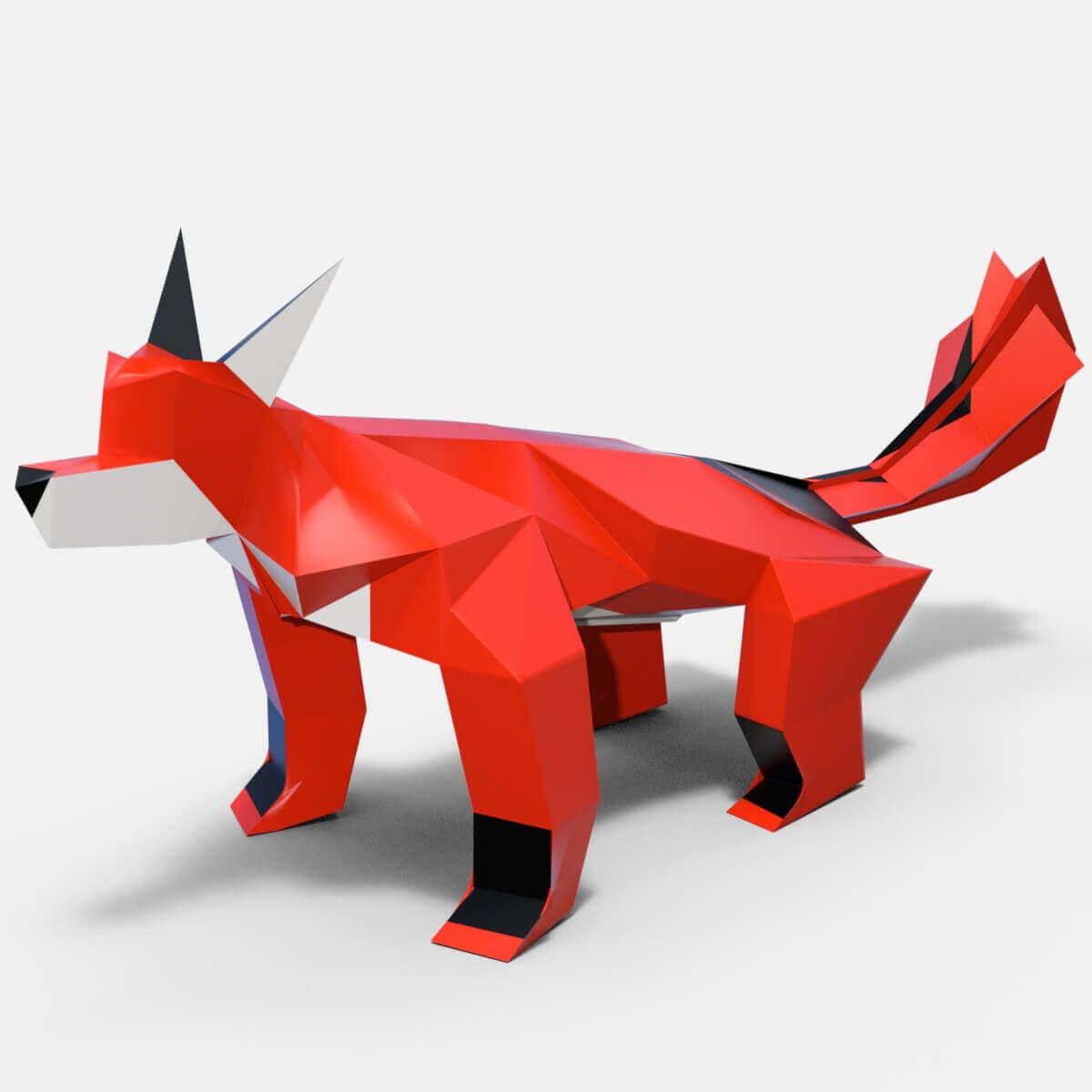 Fox Free 3D Model