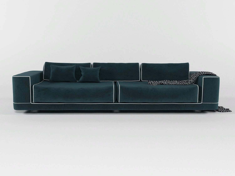 Miraculous Fendi Velvet Sofa 3D Model Alphanode Cool Chair Designs And Ideas Alphanodeonline