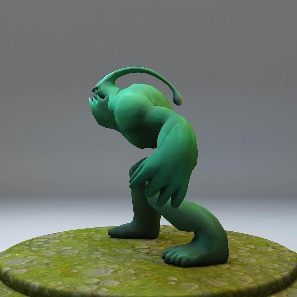 Zac from League of Legends 3D Model