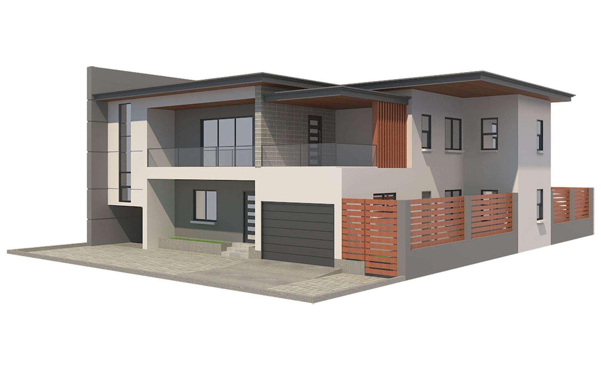f517dae62e97 Modern House Free 3D Model