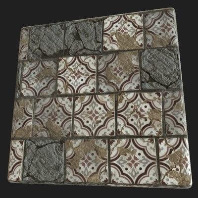 tiles texture generator