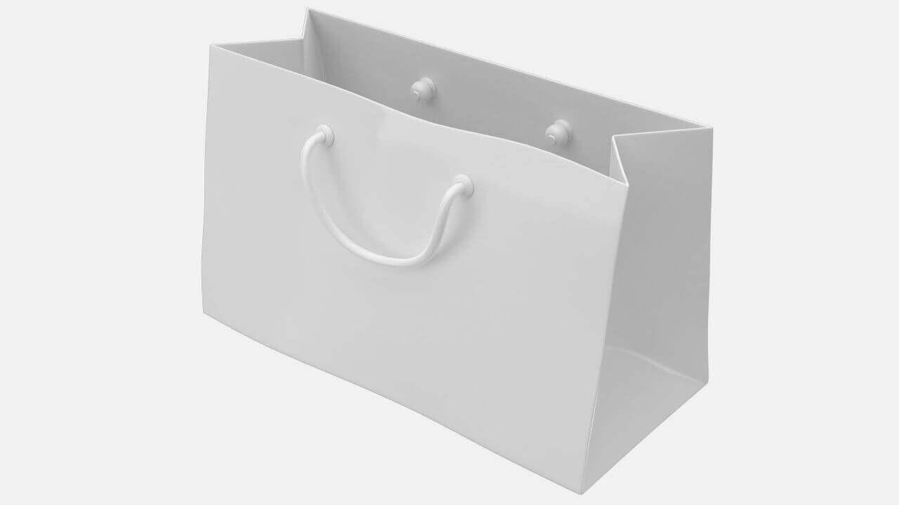 Shopping Bag 3D Model