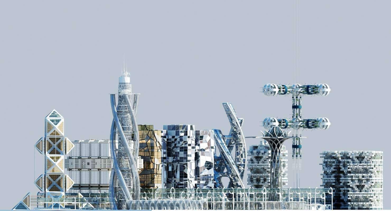 Future City HD 2 3D Model