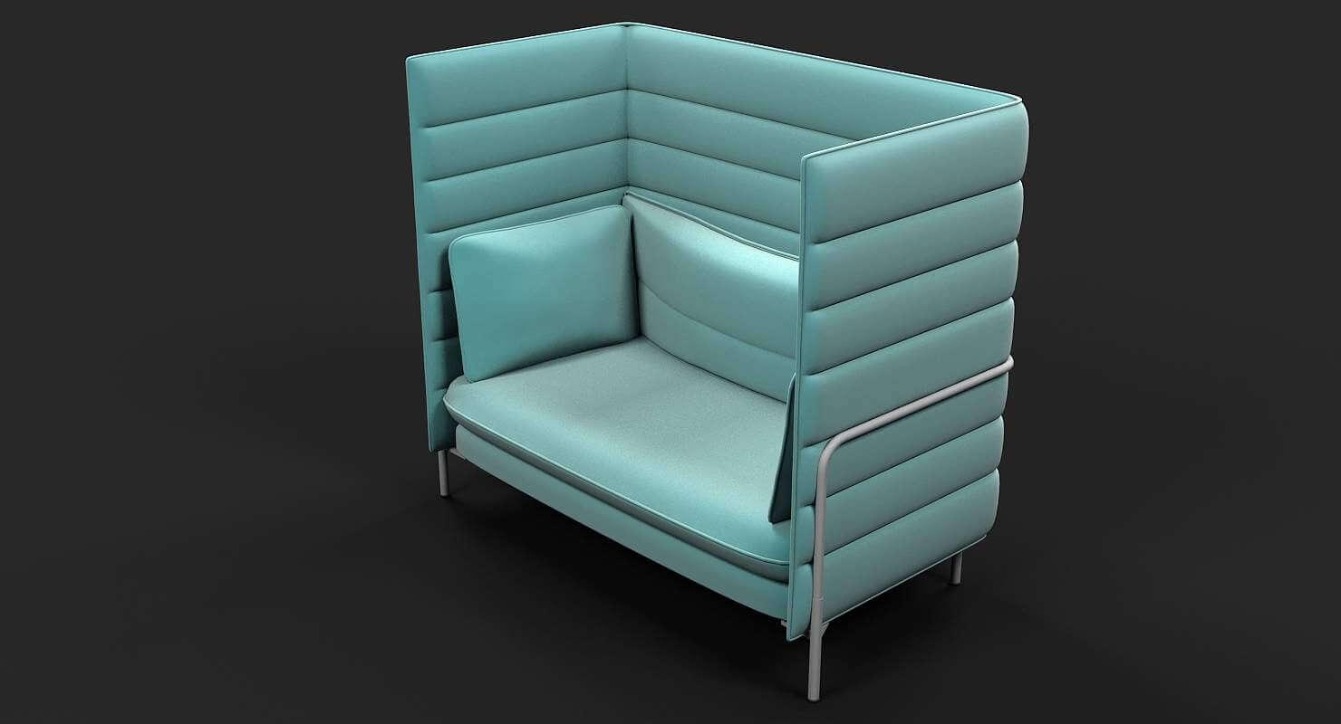 Superieur Vitra Alcove Chair