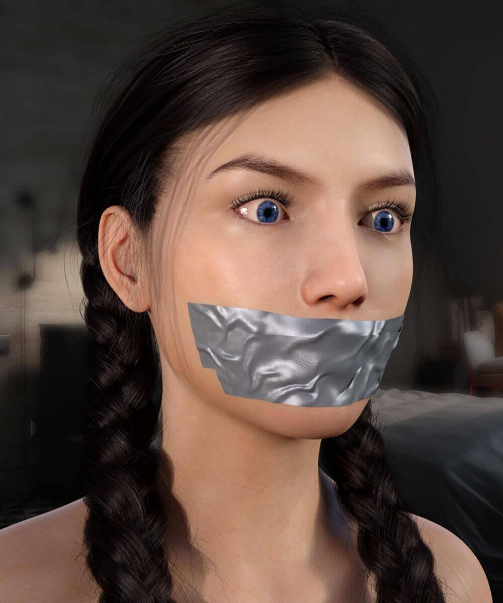 Intruder bondage sock models